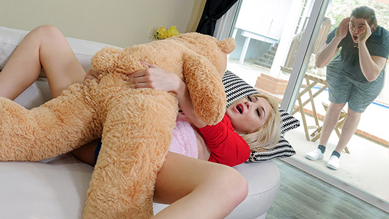 ExxxtraSmall Sia Lust Freaky With The Teddy 02 18 2021