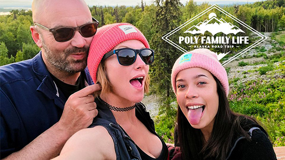PolyFamilyLife Lana Mars AKGingersnaps Alaska Road Trip Episode 1 12 03 2020