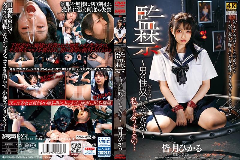 DDHH-020 Dogma Confinement - I Became A Man S Sex Toy - Hikaru Minazuki