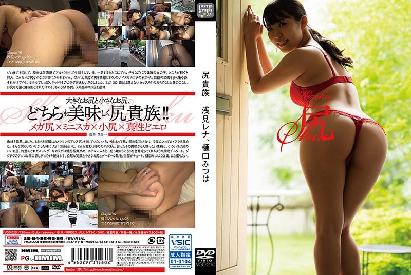 VGD-210 HMJM Ass Aristocrats Rena Asami Mitsu Higuchi
